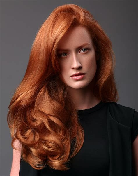 hairstyles for long hair red a long red hairstyle from the it looks autumn winter 2015