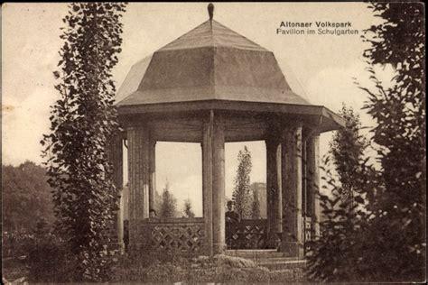 Pavillon Im Volkspark by Ansichtskarte Postkarte Altona Hamburg Volkspark