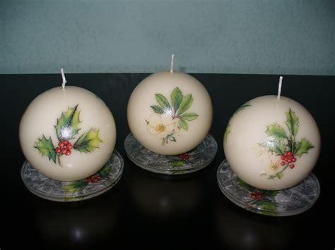 decoupage su candele realizzare bomboniere con decoupage cerimonie