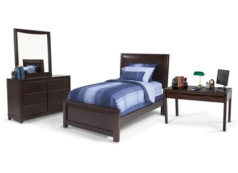 Bobs Bedroom Furniture | greenville 7 piece twin bedroom set with desk kids