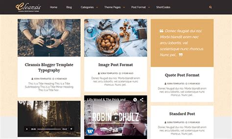 high quality free blogger templates cleansis blogger template high quality free blogger