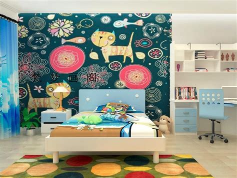 cat wallpaper room online buy wholesale girls room wallpaper from china girls