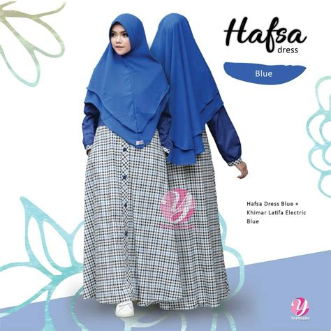 Hafsa Dress by Hafsa Dress 171205 0004 Estrellashop Id
