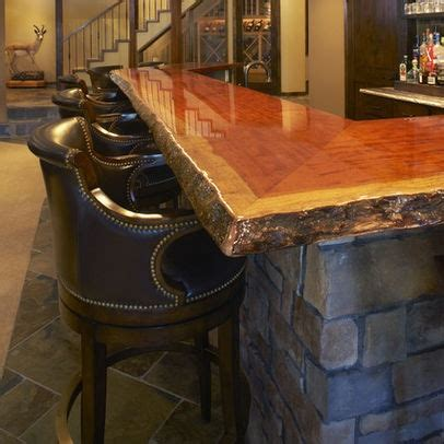 rustic wood bar tops 23 best images about rustic bar on pinterest industrial