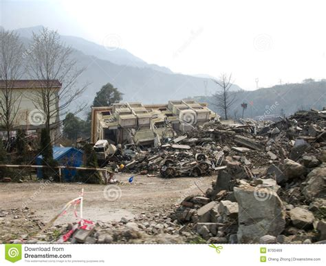 earthquake dream earthquake stock image image of yingxiu magnitude china