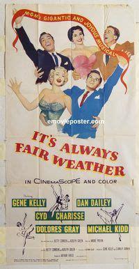 film it always fair weather emovieposter com auction history
