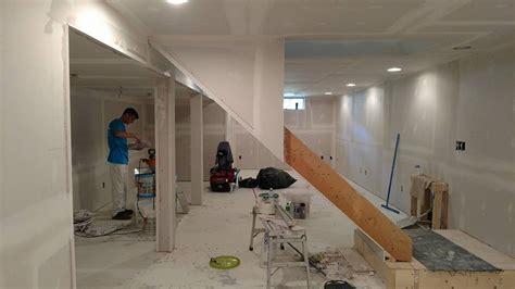 akron basement drywall installation rubber city drywall
