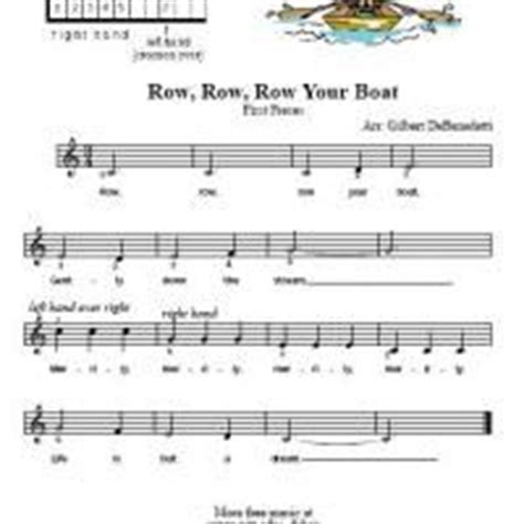row your boat time signature 33 best images about topic music sheet on pinterest