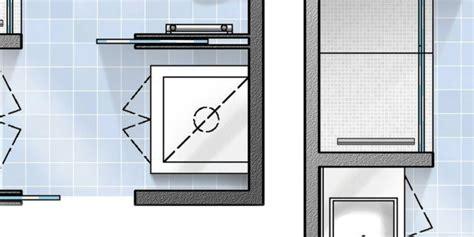 bagno rettangolare progetto bagno con pianta progetto e costi dei lavori prima