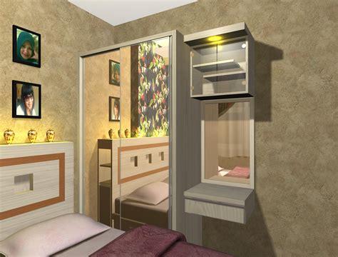 desain ruang apartemen studio contoh desain project interior apartemen menteng square
