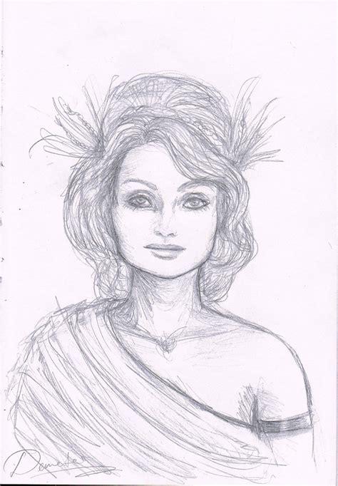 demeter hairstyle harvest of demeter goddess symbol