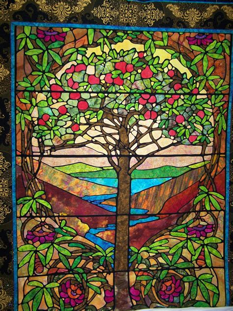 Stained Glass Quilt by