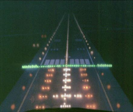 runway end identifier lights runway threshold lights