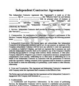 Real Estate Independent Contractor Agreement Template by Create An Independent Contractor Agreement Legaltemplates