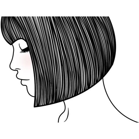 how to draw a bob hair cut bob hairstyles drawings best 25 images of hairstyle