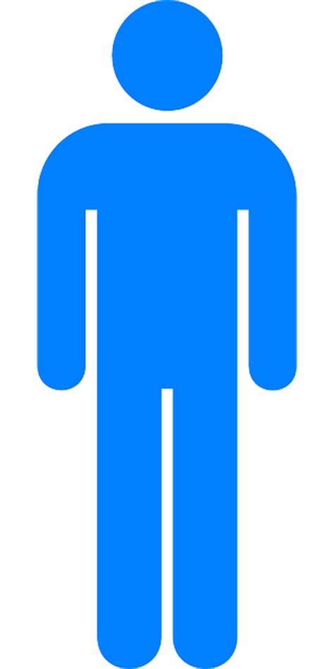 bathroom sign man free vector graphic man toilet male bathroom free