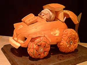 Best Kitchen Knives For The Money 14 tricked out pumpkin car 2012 pumpkin carving contest