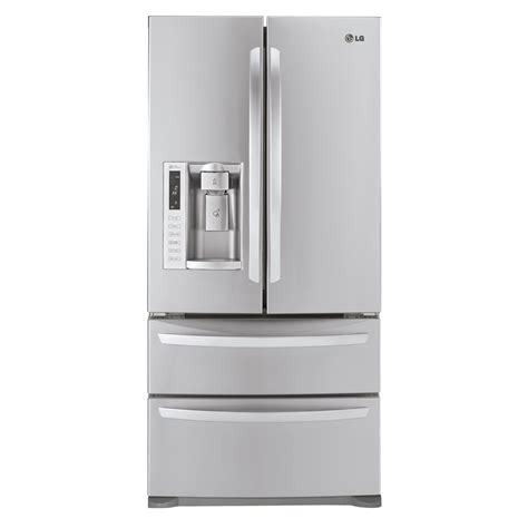Lg 33 Inch Door Refrigerator by Lg 24 7 Cu Ft Door Bottom Freezer Refrigerator Shop Your Way Shopping Earn