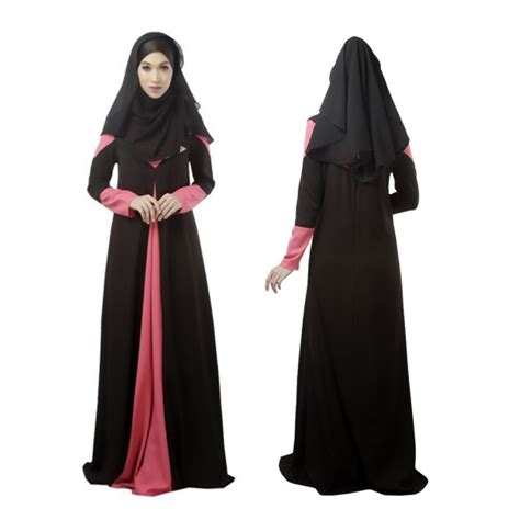 Maxi Dress Muslim Dress Wanita Wilsa Maxi muslim s clothes kaftan islamic sleeve arab jilbab abaya maxi dress ebay
