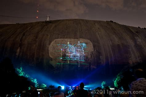 stone mountain laser light show laser light show at stone mountain in atlanta ga flickr