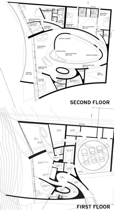 zaha hadid floor plans zaha hadid s la jolla house detail magazine of