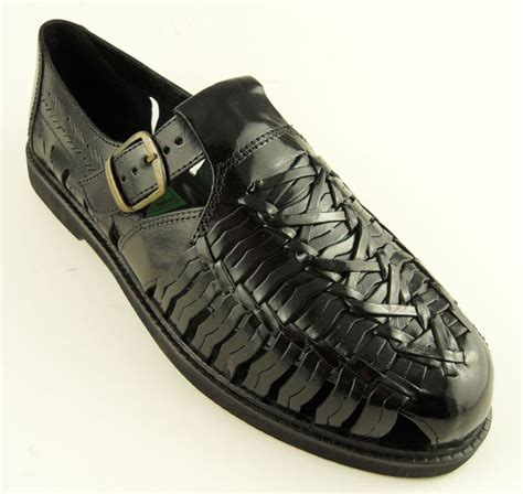 mens closed toe leather dress sandals mens leather closed toe sandals black sz 6 14 ebay