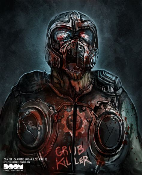 zombie carmine gears of war 3 by doomcmyk on deviantart