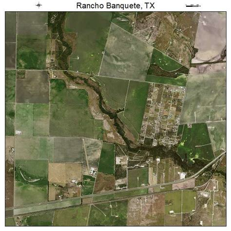 banquette tx aerial photography map of rancho banquete tx texas