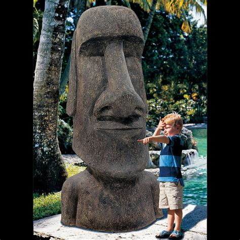 Garage Closet Design king moai massive easter island statue the green head