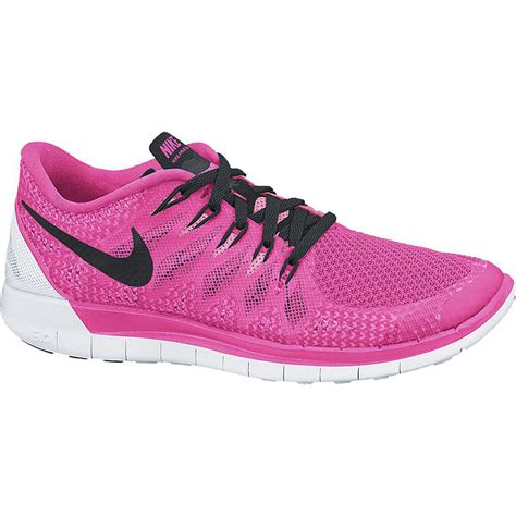 nike pink running shoes womens nike womens free 5 0 running shoes pink black