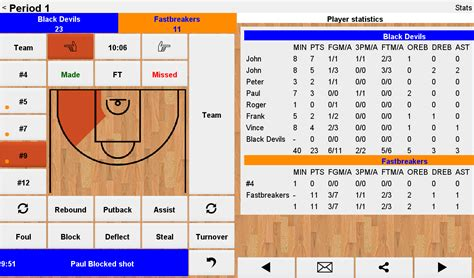 basketball record easy basketball stats android apps on play