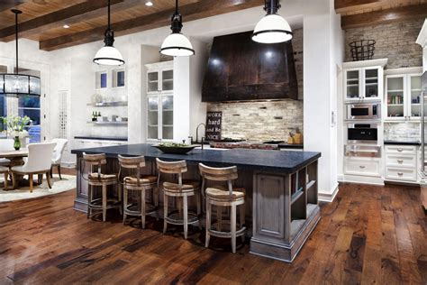 kitchen island breakfast bar hill country modern in