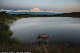 another summer the yellowstone park and alaska classic reprint books beautiful photos of us landscapes released by department