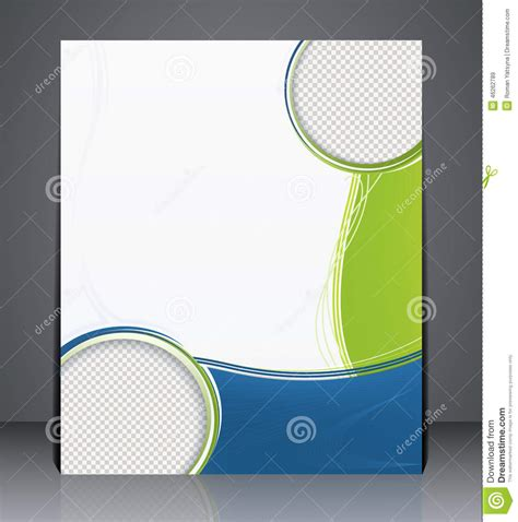 layout for cover photo layout business brochure magazine cover stock
