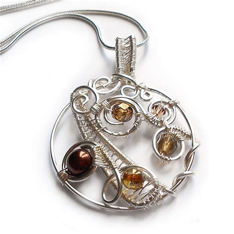 how to make wire weave jewelry autumn weave jewelry journal