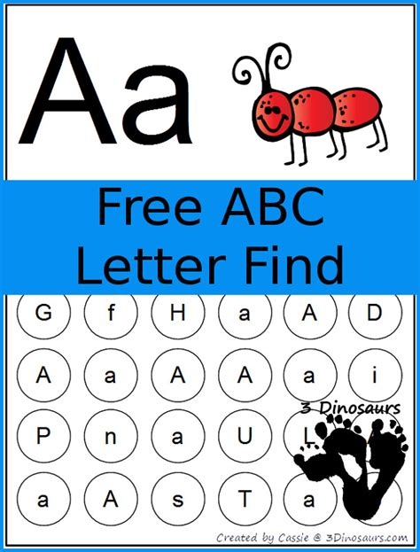 Finder Free Search Find The Letter A Worksheet Free Worksheets Library And Print Worksheets