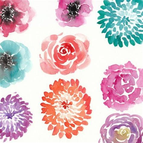 best 25 watercolor flowers tutorial ideas on watercolour step by step water colour