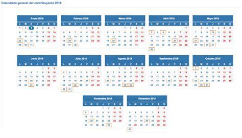 calendario de pago de impuestos de inmuebles y vehiculos las fechas clave para el pago de impuestos en 2018