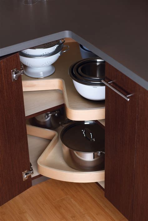 Corner Kitchen Cabinet Storage Solutions Cardinal Kitchens Baths Storage Solutions 101 Convenient Corner Cabinets