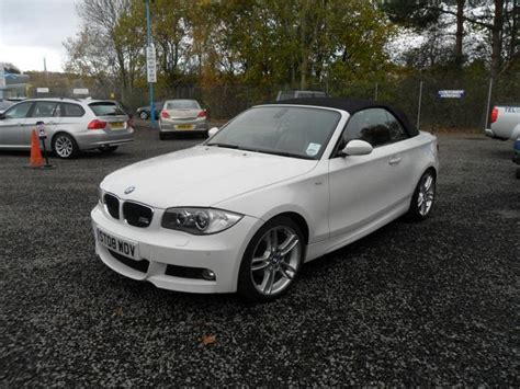 Bmw 1er Cabrio Weiss by Used Bmw 1 Series 2008 Petrol 118i M Sport Convertible