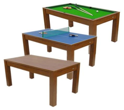multi use pool table 6ft mars deluxe 3 in 1 multi table pool table