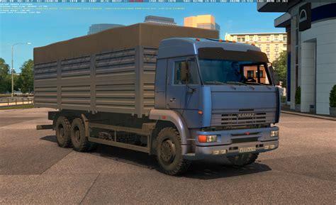 kamaz     koral  truck euro truck simulator  mods