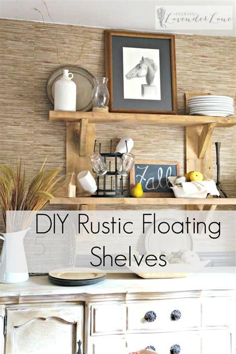 diy rustic bathroom shelves seeking lavendar