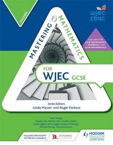libro wjec gcse maths higher bol com mastering mathematics for wjec gcse gareth cole heather davis 9781471856525 boeken