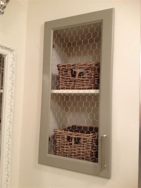 chicken wire cabinet doors cabinet door with chicken wire diy