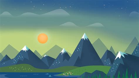 google mountain wallpaper 400 material design wallpapers verdict