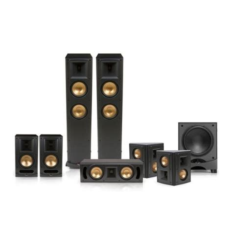 klipsch rf 600 reference series 7 1 home theater speaker