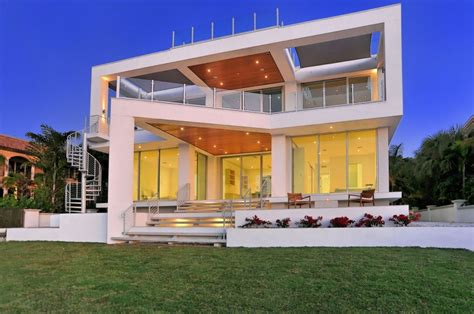 modern home design florida sensational picture frame house by dsdg inc architects wave avenue