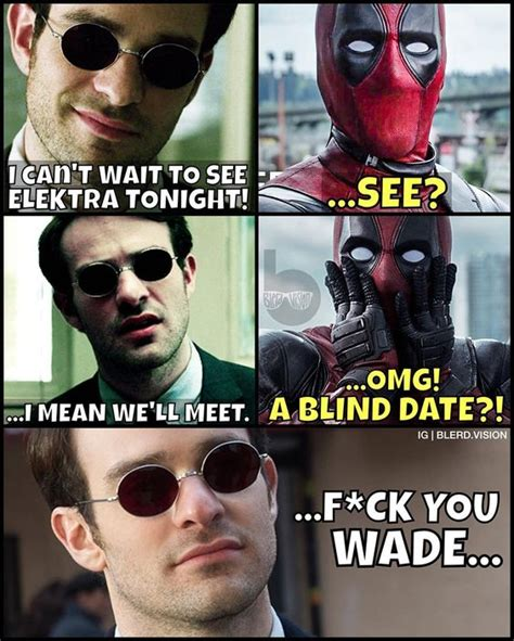 Daredevil Meme - i m not sure why i just find daredevil blind jokes
