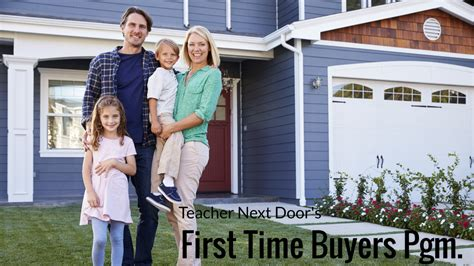 time home buyer programs updated 11 3 17